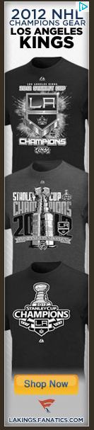 LA Kings 2012 Stanley Cup Champions Banner Ad
