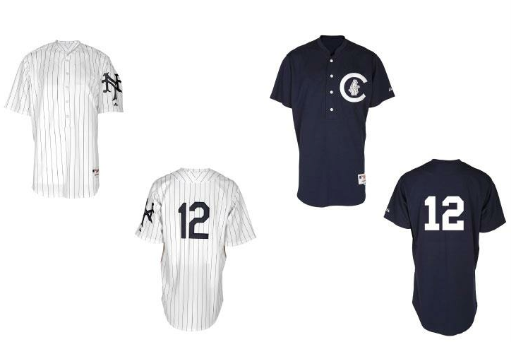 San Francisco Giants Chicago Cubs 1912 Throwback Jerseys 2012
