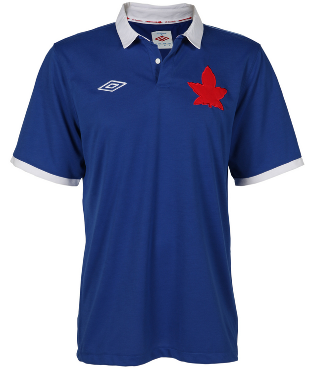 Canada Soccer Blue Uniform 1925 2012