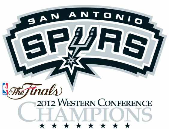 San Antonio Spurs 2012 Western Conference Champs