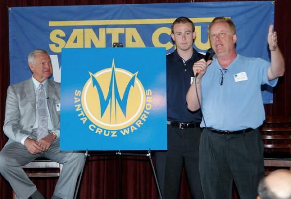 Santa Cruz Warriors Unveil Logo, 2012