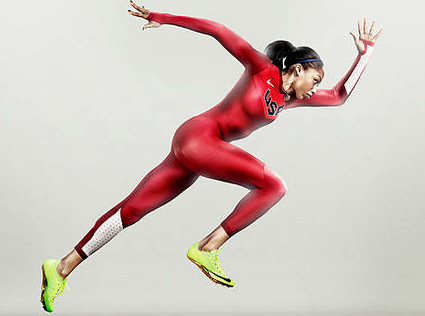 Nike USA Olympic Track Uniform 2012