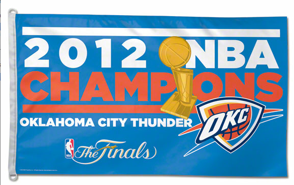 Oklahoma City Thunder 2012 NBA Champions Merchandise