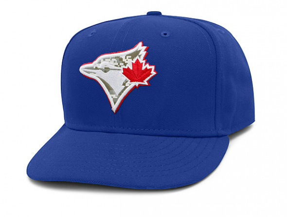Toronto Blue Jays Stars and Stripes Cap 2012