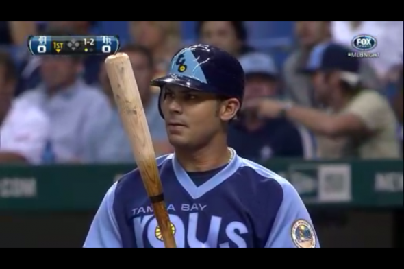 """on sale 2fef8 b47f2 Tampa Bay Rays Throwback to """"1979"""" Tonight, Pics! 