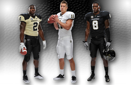 Vanderbilt Commodores New Uniform 2012
