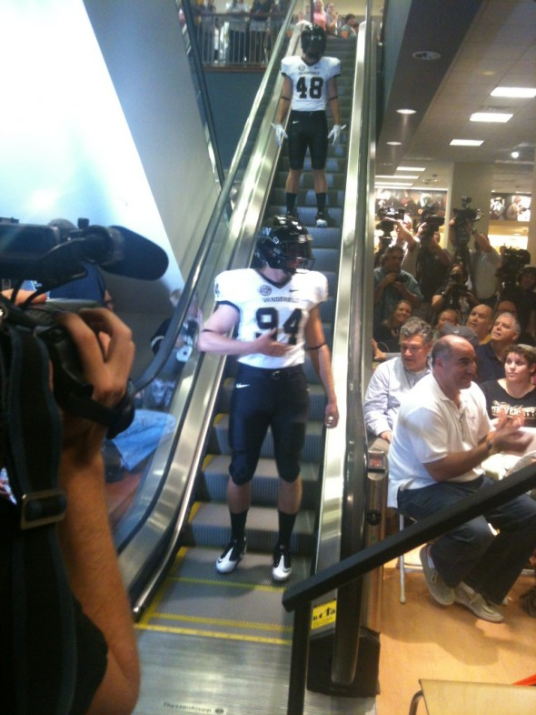 Vanderbilt Commodores New Uniform 2012 black white black