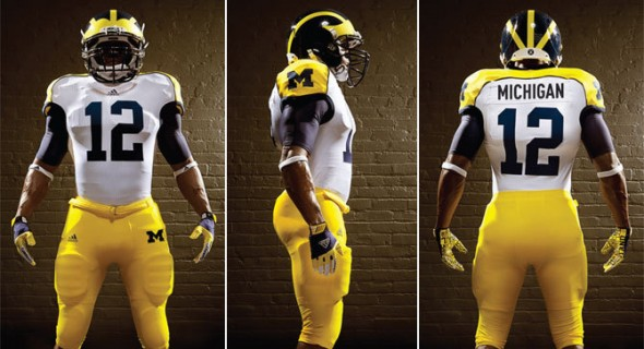 Michigan Uniform Alabama cowboy stadium opening day alt