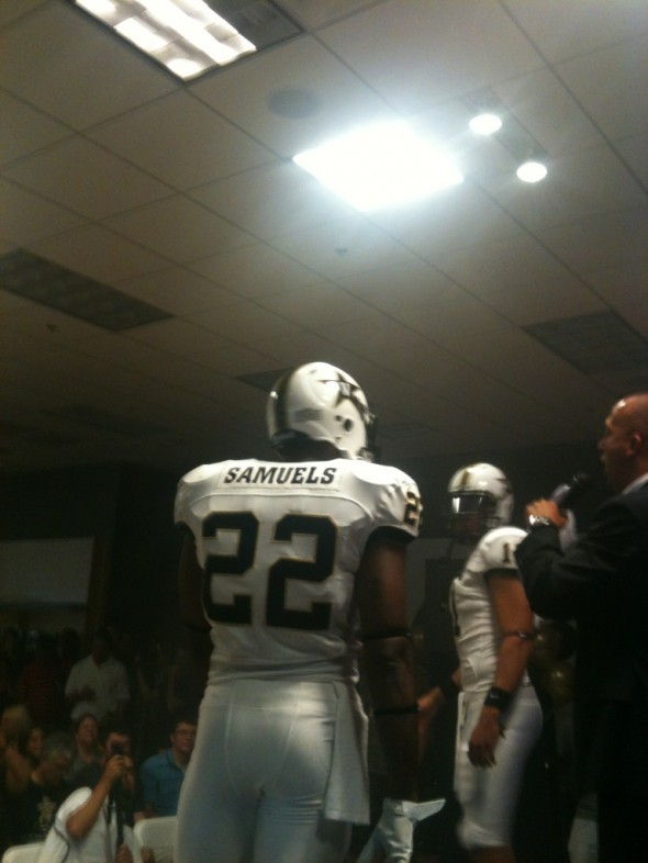 Vanderbilt Commodores New Uniform 2012 all white