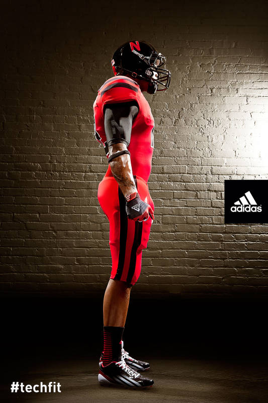 Nebraska Alternate Uniforms Against Wisconsin Side