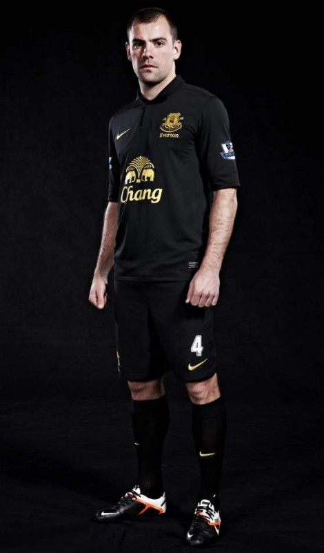 Everton new kit soccer jersey uniform nike away