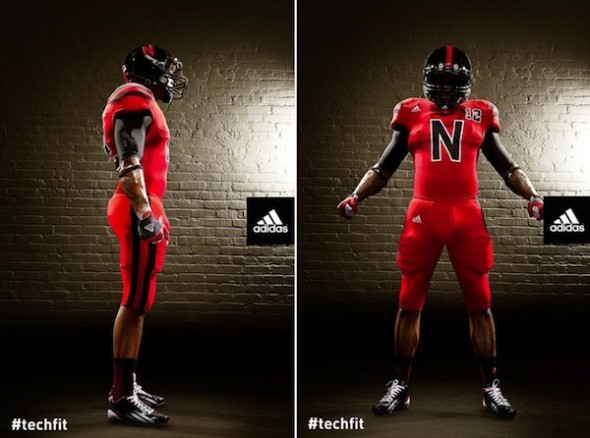 Nebraska Alternate Uniforms Against Wisconsin both