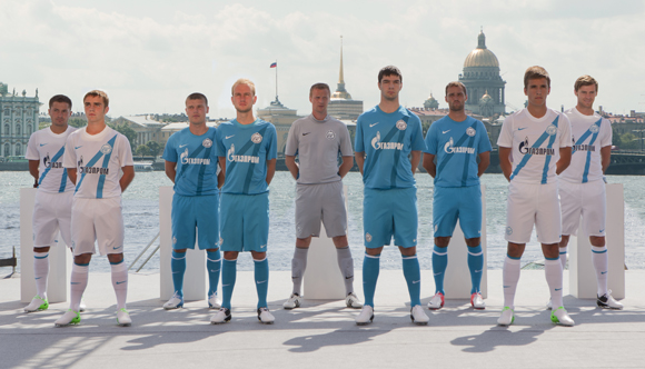 New Zenit Home Away soccer kits new nike