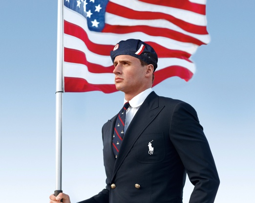 USA Olympic Team uniforms outfits opening ceremony US polo 2012 lochte