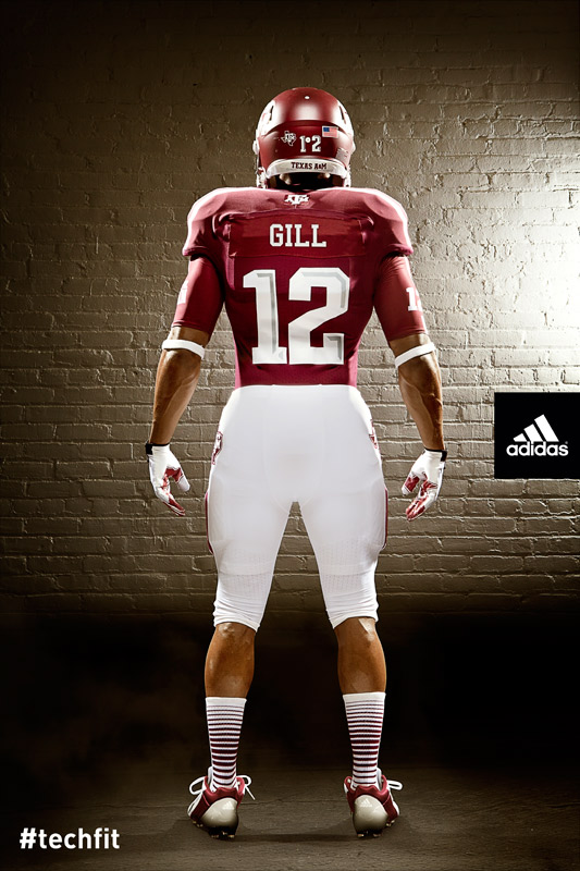 Texas A&M Aggies new jerseys uniform Adidas maroon-1