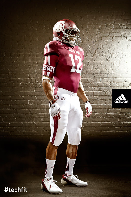 Texas A&M Aggies new jerseys uniform Adidas maroon-6
