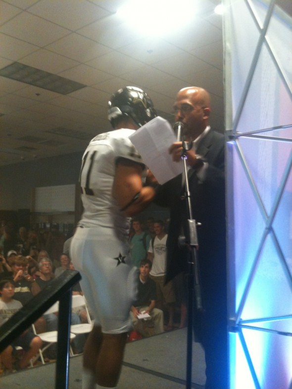 Vanderbilt Commodores New Uniform 2012 black white white