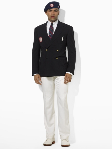 USA Olympic Team uniforms outfits opening ceremony US polo 2012 blazer