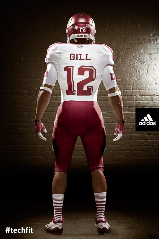 Texas A&M Aggies new jerseys uniform Adidas white-1