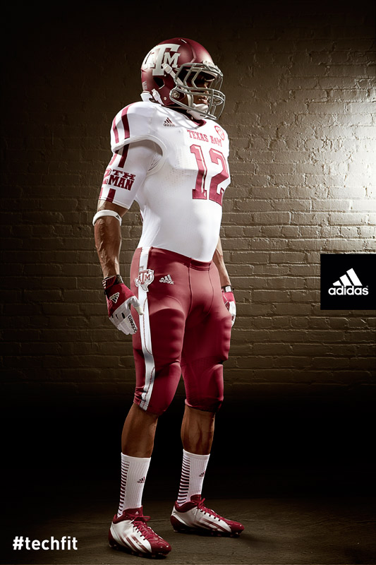 Texas A&M Aggies new jerseys uniform Adidas white-5