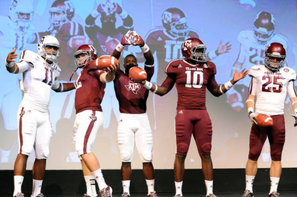 Texas A&M Aggies new jerseys uniform Adidas team