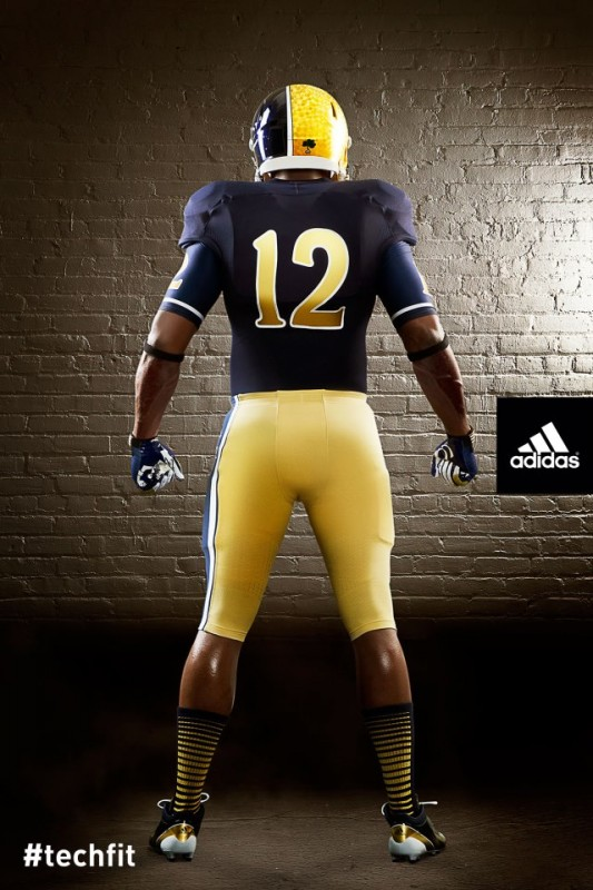 Notre Dame Shamrock Series new uniforms Back