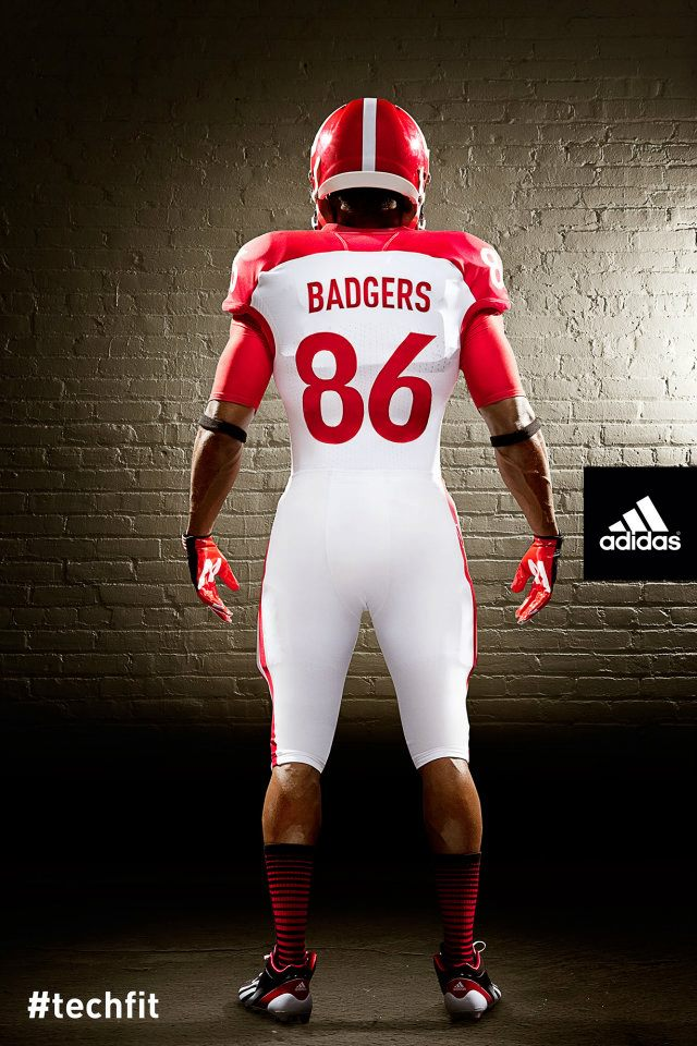 Wisconsin uniforms adidas nebraska back