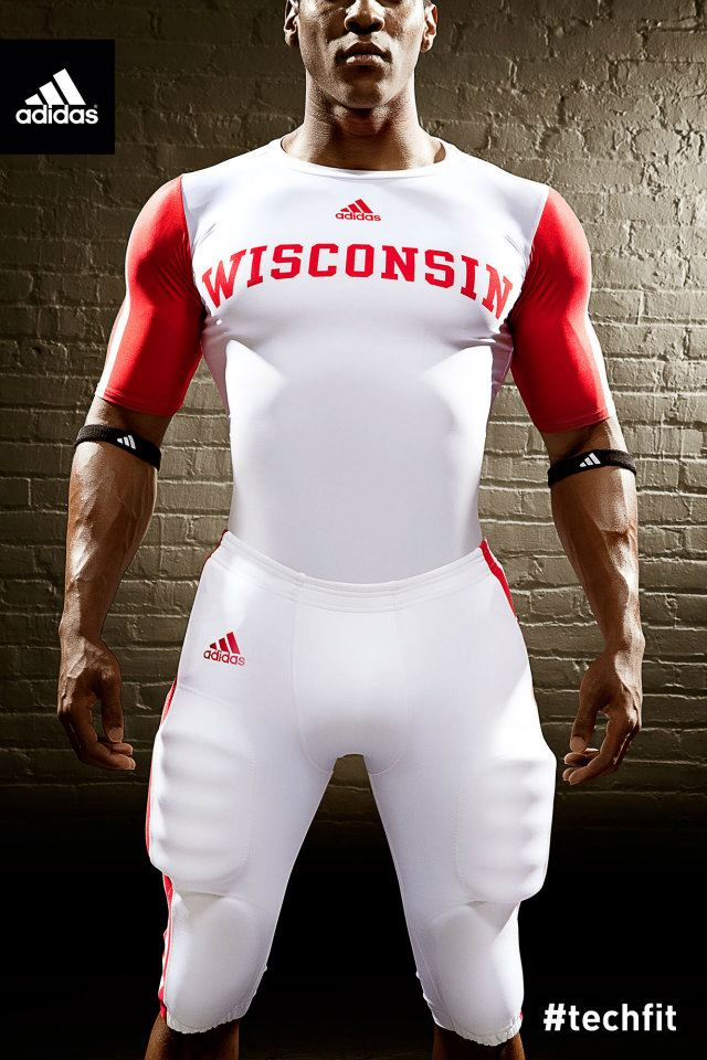 Wisconsin uniforms adidas nebraska undershirt