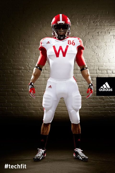 Wisconsin uniforms adidas nebraska front