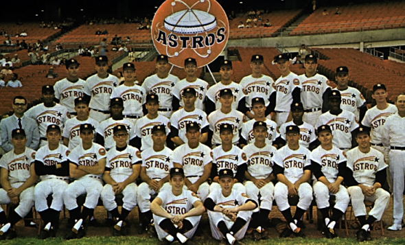 Astros Team >> Houston Astros Back To Blue And Orange Uniforms In 2013