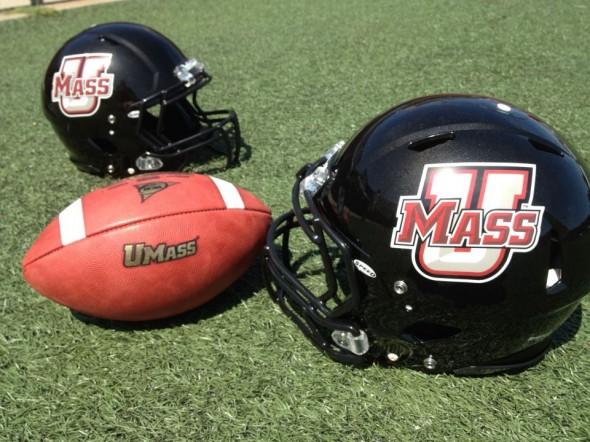 UMass Minutemen New Helmets FBS helmets