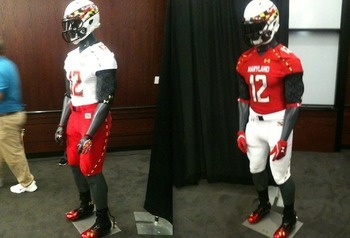 Maryland terrapins 2012 new uniforms