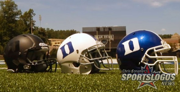 Duke Blue Devils New Helmets Black Matte Flat Blue All 3