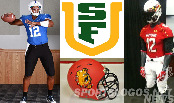 Chris Creamer SportsLogos.Net New Uniforms New helmets new logo sports football
