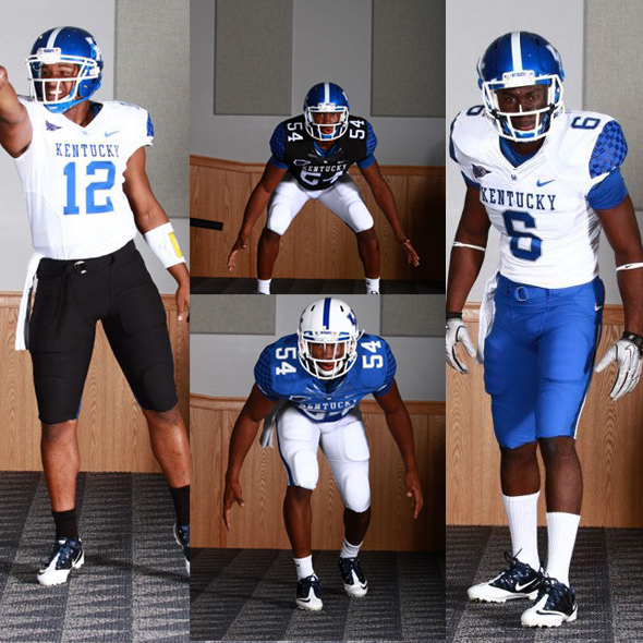 kentucky wildcats new uniform selections