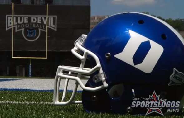Duke Blue Devils New Helmets Black Matte Flat Blue reversed