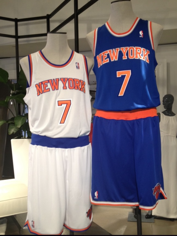 New York Knicks Unveil New Uniforms Chris Creamer S Sportslogos