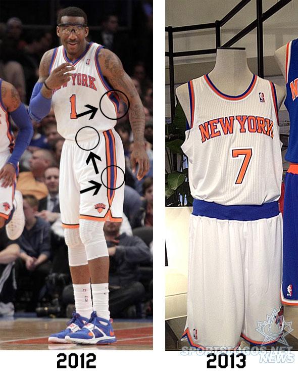 new arrival 06e48 50660 New York Knicks Unveil New Uniforms   Chris Creamer's ...