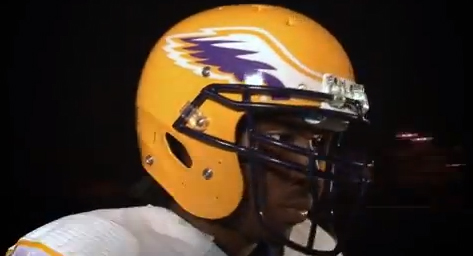 Tennessee Tech Golden Eagles Russell new uniforms - helmet
