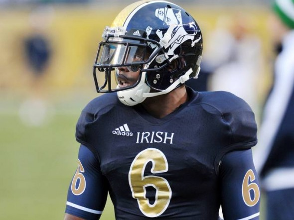 SportsLogos.Net Best/Worst 2012 college football NCAA worst uniform awards - Norte Dame S
