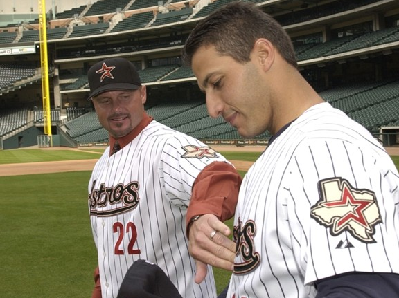 Roger Clemens and Andy Pettitte Houston Astros