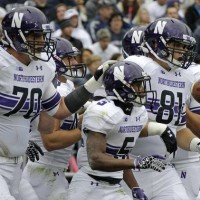 SportsLogos.Net Best/Worst 2012 college football NCAA best uniform - Northwestern white
