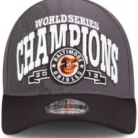 Baltimore Orioles 2012 World Series Champions Cap