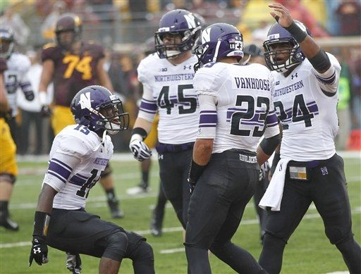 SportsLogos.Net Best/Worst 2012 college football NCAA best uniform - Northwestern minne