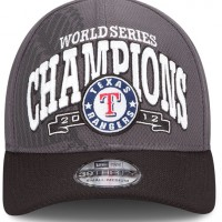 Texas Rangers 2012 World Series Champions Cap