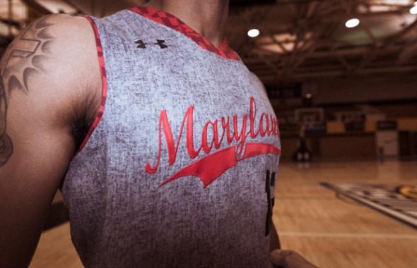 Maryland Terrapins basketball uniform special grey gray kentucky wildcats brooklyn dodgers - school name