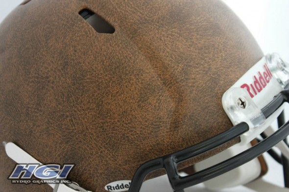 Washington Redskins throwback panthers sunday November retro leather helmets - HGI leather helmet