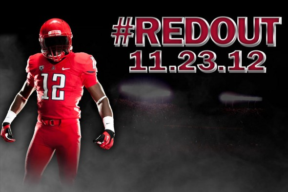 Arizona redout red uniforms red helmet