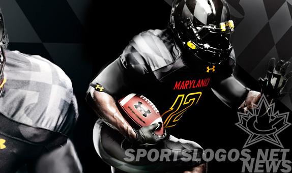 Under Armour Black Ops Maryland Terrapins uniform jersey alt - featured