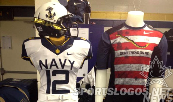 Navy Nike Univorms football college Commander-in-Chief's Trophy featured